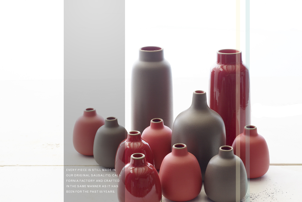 Heath Ceramics Sausalito, CA: Annual 20% off sale & open studio November 20-29