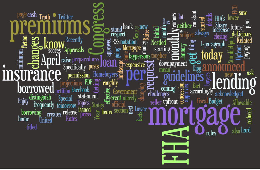 Separating FHA Fact From Fiction : Mortgage Insurance Premiums